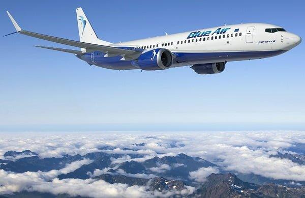 Αποτέλεσμα εικόνας για Blue Air: Πτήσεις με έκπτωση 15%