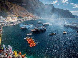 Αποτέλεσμα εικόνας για Υψηλού επιπέδου αθλητές στο Santorini Experience 2019