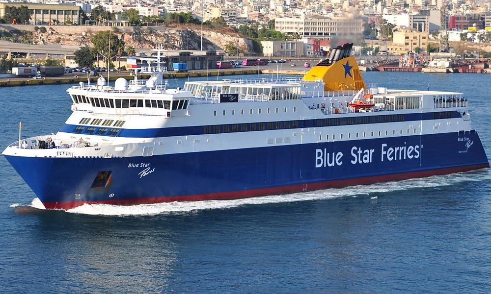 Συναγερμός στο Blue Star Delos για 23 Γάλλους ύποπτους για κορωνοϊό